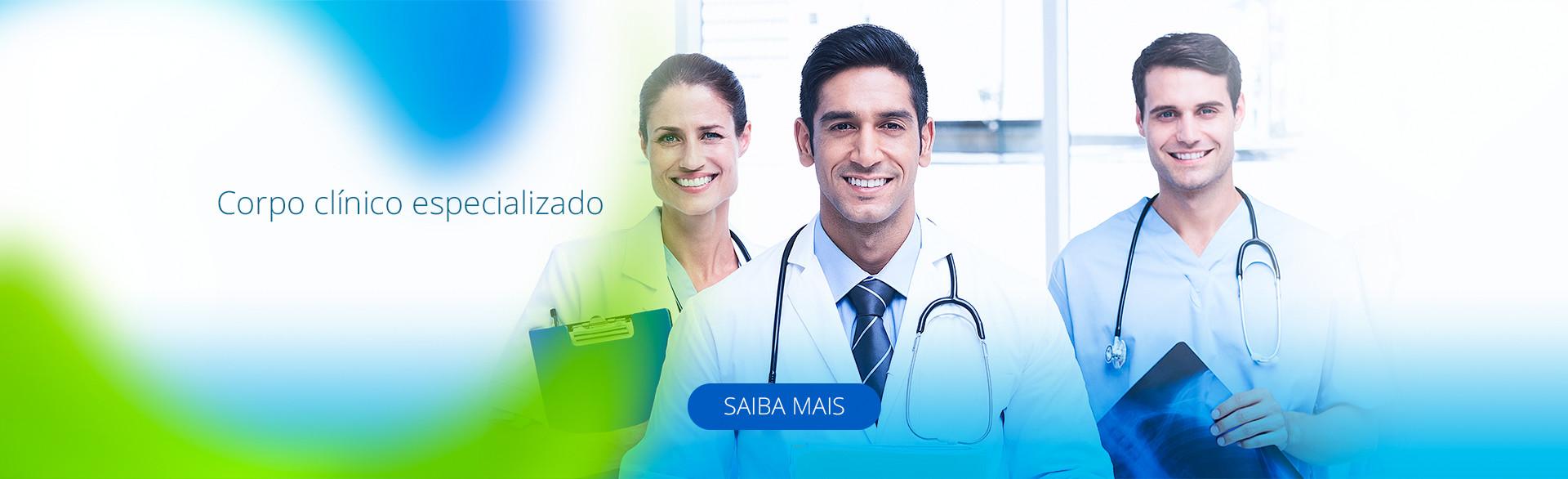 corpo clínico especializado