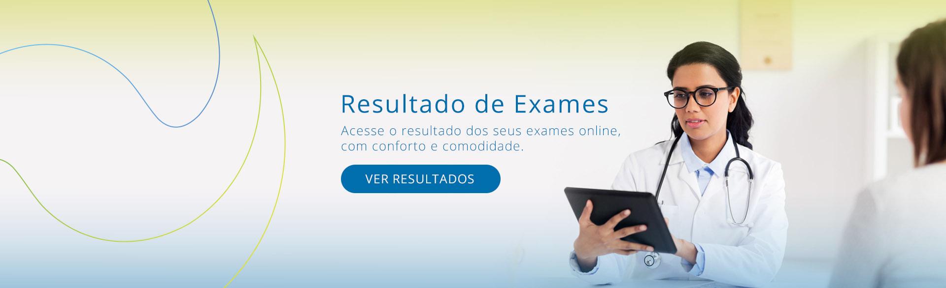 resultados de exames online