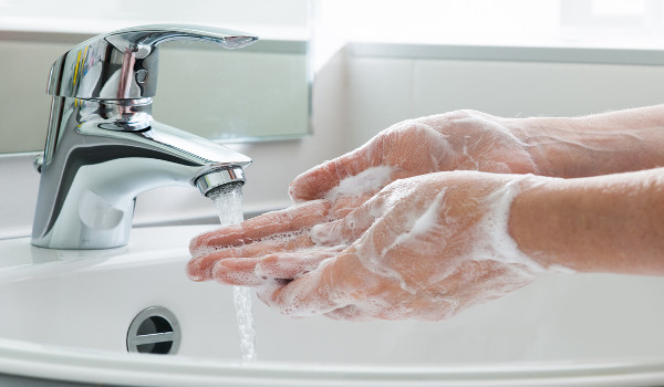 coronavírus e a importância da lavagem das mãos